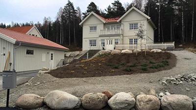 Faluhus - modell Lysekil, finns i Lillån Örebro.